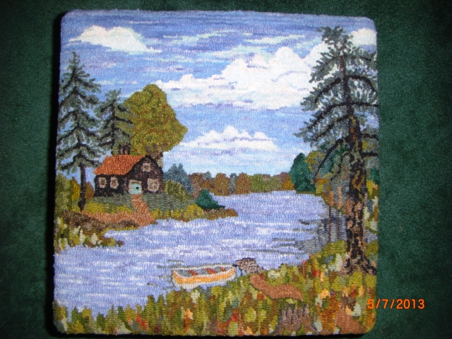 """Rug Hooking Tips from """"Heloise"""""""